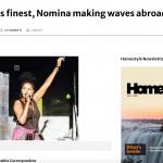 Nomina making waves abroad